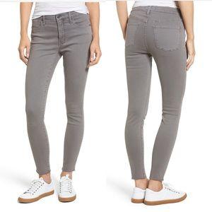 Madewell 9-Inch High-Rise Skinny Jeans: Raw-Hem